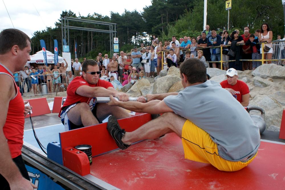 Ustronie Morskie rok 2011 pierwsze zawody Mas Wrestlingu w Polsce